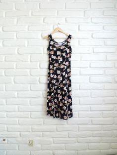 90s Grunge Maxi Dress