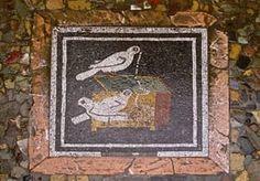 floor mosaic, Pompeii (photo by Jim Pressler)