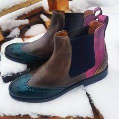 En plus de leur élégance, profitez du confort des bottines Sally 30 pour femme, indispensables pour cet hiver chez Melvin & Hamilton !