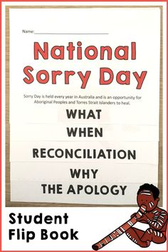 Sorry Day Flip Book - Real Time - Diet, Exercise, Fitness, Finance You for Healthy articles ideas 5th Grade Social Studies, Social Studies Activities, Teaching Resources, Teaching Ideas, Naidoc Week Activities, National Sorry Day, Primary School Curriculum, School Children, Australian Curriculum