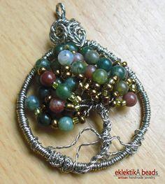 this is my 1st handmade tree pendant