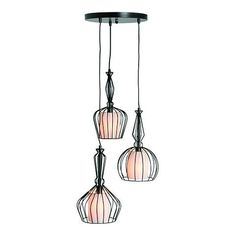 Reminiscent of Steampunk influences, Emeline from MADE.com is a modern and fearless collection of industrial style clustered and pendant cage lights.