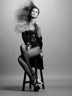 """Alice Dellal in """"The Best of British"""" by Solve Sundsbo for i-D Magazine No. 297 March 2009"""