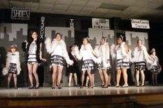 Bugsy Malone Sets and Costumes