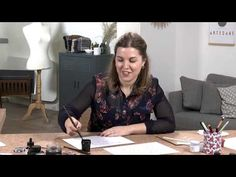 TUTO - Les bases de la calligraphie à la plume - YouTube