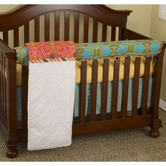 Gypsy Front Crib Rail Cover Up Set