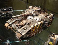 40k - Iron Warriors Baneblade Super Heavy Tank