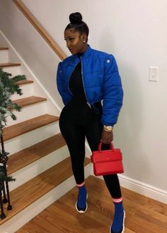 Chill Outfits, Dope Outfits, Swag Outfits, Trendy Outfits, Fashion Outfits, Fashion 2018, Black Girl Fashion, Look Fashion, Teen Fashion