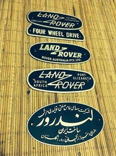 Land Rover badges, I want them all.
