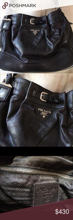 Selling this Authentic Prada purse on Poshmark! My username is: nanharris75. #shopmycloset #poshmark #fashion #shopping #style #forsale #Prada #Handbags