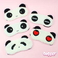 Panda silmälaput, Gotta catch them all. Japanese Eyes, Kawaii Gifts, Kawaii Stuff, Panda Eyes, Gotta Catch Them All, Kawaii Faces, Kawaii Stationery, Kawaii Shop, Cute Panda