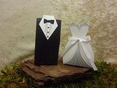 50 x Schachtel Gastgeschenk  Hochzeit  von SackundPack auf DaWanda.com