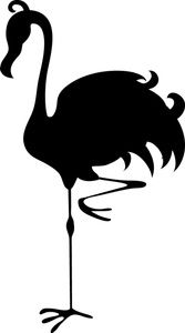 Flamingo Clipart Image - Silhouette of a Flamingo - ClipArt Best ...