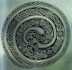 Celtic Ouroboros Snake