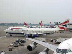 British Airways Boeing 747-400 Airliner at NRT