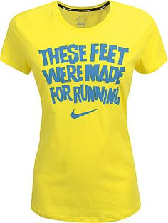 These feet were made for running.