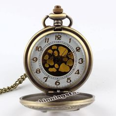The Hunger Games Pendant Watch Necklace