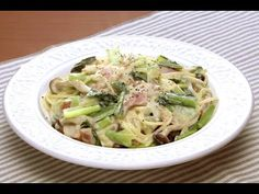 Blood vessels and aging is not cooking 「komatsuna of cream spaghetti」