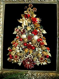 Jeweled Xmas tree