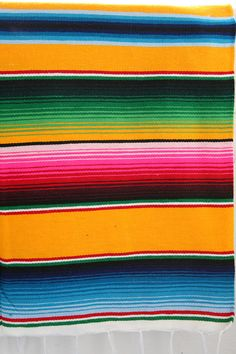 Cosy, comfy & colorfull ~ Mexican blankets