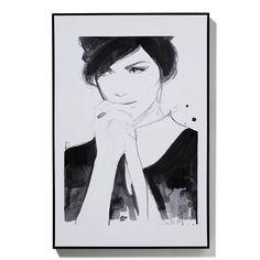 Home Republic - Galerie Print Zoe – Homewares Wall Art & Mirrors – Adairs online