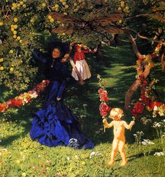 The Athenaeum - The Strange Garden (Józef Mehoffer - )