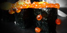 Ikura from Ace Wasabi's Sushi in San Francisco! DEE-lish!  www.facebook.com/acewasabis