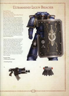 Ultramarine Legion Breacher