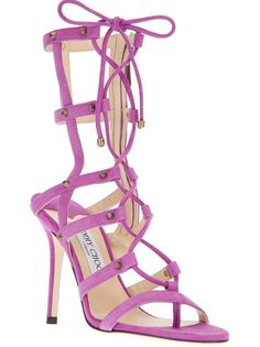JIMMY CHOO 'Meddle' Sandal. All these sexy shoes... I wish I could wear them!!