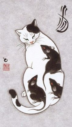 Monmon Cats | tattoo cats