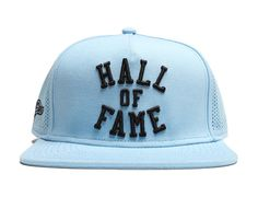 Harlem Tech Carolina Blue Snapback Cap by HALL OF FAME