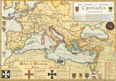 Carte des Croisades
