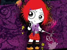 I know this is a kids show, but I LOVE it and so do my girls.  Maybe were all a little happy goth at heart.