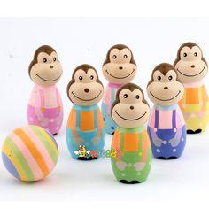 wooden monkey toys
