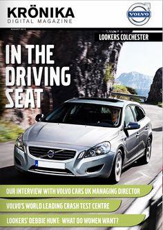 Volvo Kronika Colchester digital magazine August edition.