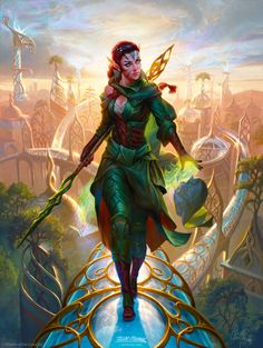 If I was ever going to cosplay... Nissa, artisan of nature