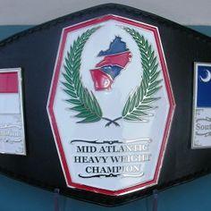 Mid Atlantic Wrestling Belt