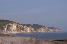 #falaises de craie à #Dieppe en #Normandie