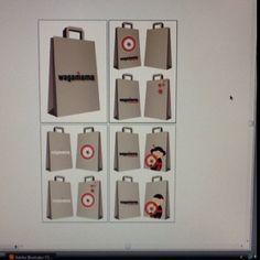 Takeout bag designs