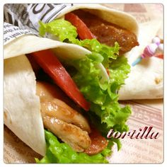 KFC-style tortilla party ✿