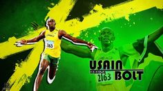 usain bolt  / WallpaperCASA