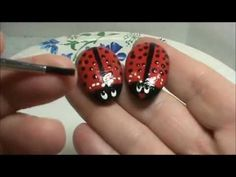 ▶ Make Some Adorable Little Ladybugs Out of Rocks! Sooo Cute! - YouTube