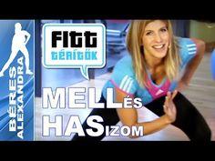 Béres Alexandra - Mell és comb edzése (Fitt-térítők sorozat)