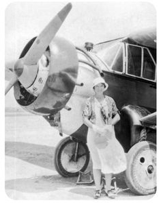 Check out this blog post about Viola Gentry, one of the early female pilots to pave the way for future women who wished to take to the sky!