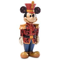 Mickey Mouse Nutcracker Figure by Jim Shore - A holiday classic!, Item No. 6434101042823P, $49.50 sale $37.12