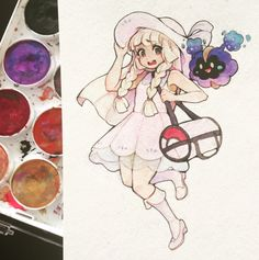"""kk-atelyn: """"lillie is perfect and i love her """""""