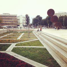 The renewed habima square