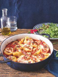 Rigatoni, Chorizo, Ricotta, Mozzarella, Thai Red Curry, Ramen, Food And Drink, Health, Ethnic Recipes