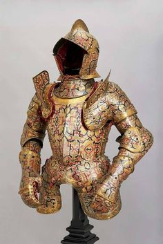 "Kunz Lochner, Armor of Nicholas ""The Black"" Radziwill (1515-1565), Germany 1555 https://web.facebook.com/museum.of.artifacts/"