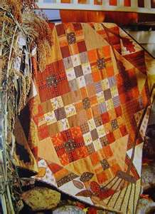 shades of autumn quilt.